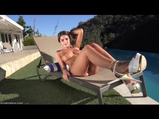 August ames solo strip tease - [hd 720, big tits, latina, masterbating, high heels, bubble butt, feet]