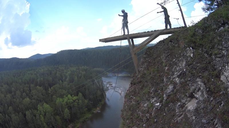 Семенов утес 72 метра