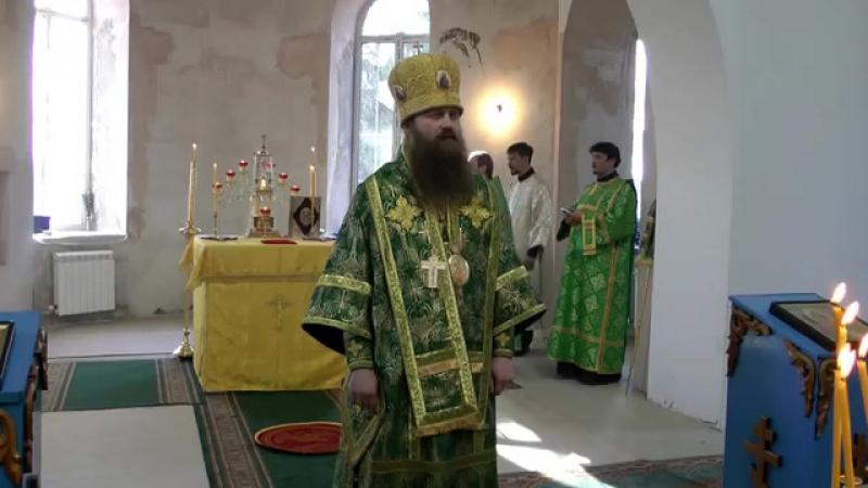 Проповедь епископа Силуана в праздник Входа Господня во Иерусалим. г. Колпашево 28.04.2013г.