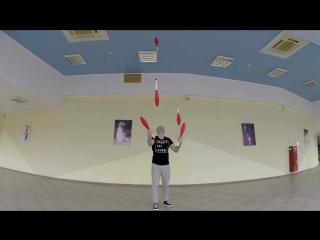 Игра жонглера