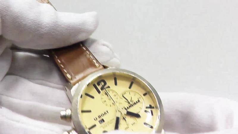 U-Boat Classico Sansibar Edition 6918M Martellee Chronograph 48 mm Sterlingsilber