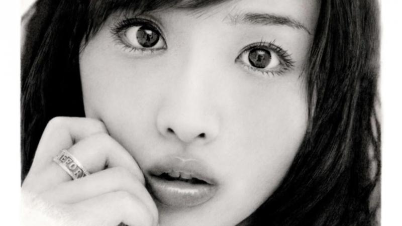 鉛筆画 石原さとみ 完成までの一部始終 動画 早送り _ Pencil drawing_ Satomi Ishihara_ Portrait_ How To D