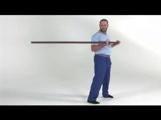 Wing Chuns Lok Dim Boon Gwun (Pole) Exercises