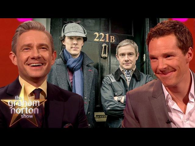 Elementary My Dear Norton Best of Benedict Cumberbatch Martin Freeman on The Graham Norton Show