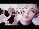 Taejin good meets evil (AU)