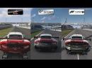 Assetto Corsa vs GT Sport vs Forza 7 Porsche 911 RSR at Nurburgring Comparison Gameplay