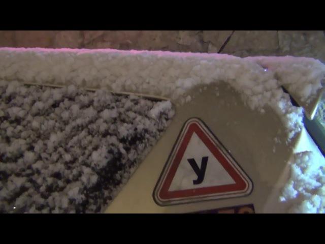 Ледяная дорога.