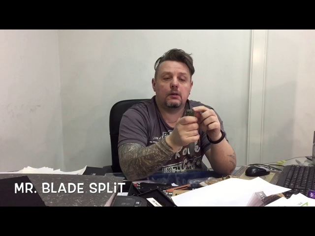 Видео обзор ножа Mr. Blade Split от интернет-магазина www.Lady-War.ru