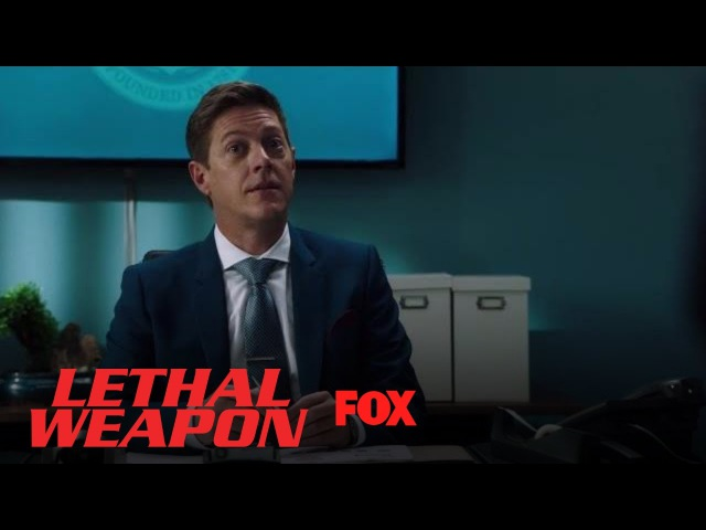 Gina Santos Tells Captain Brooks That He's On Disciplinary Action | Season 2 Ep. 4 | LETHAL WEAPON