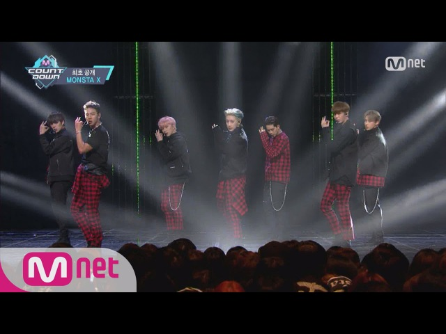 [MONSTA X - Be Quiet] Comeback Stage | M COUNTDOWN 161006 EP.495