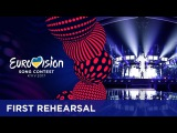 Omar Naber - On My Way (Slovenia) First rehearsal in Kyiv
