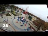 Узнай скорость! Chain Carousel Kharkov. GoPro. Цепочная карусель Парк Горького, Харьков.