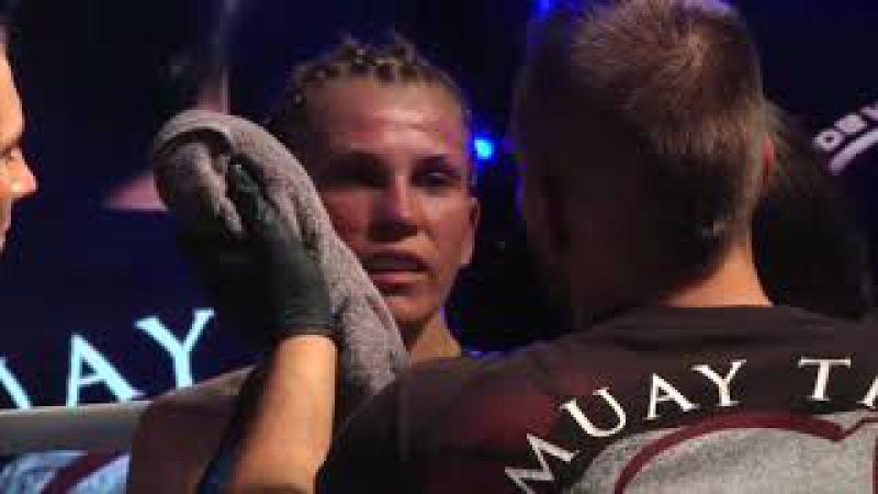 8 Gala Sportów Walki w Międzychodzie 14 10 2017 Marta Gusztab vs Patrycja Krawczyk
