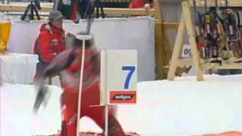 Биатлон. Кубок мира 2006-2007. 2 этап. Хохфильцен. Мужская эстафета