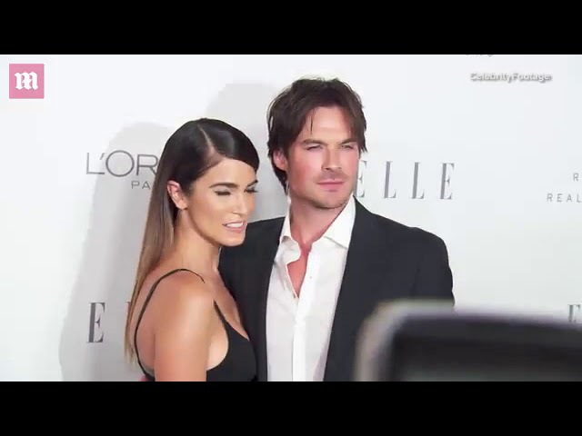 Ian Somerhalder supports stunning wife Nikki Reed at ELLE event