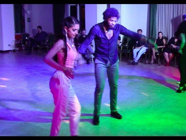 Terry SalsAlianza and Busra Araci | Social Salsa dancing Que Locura Enamorarme de Ti @ All-In Dance