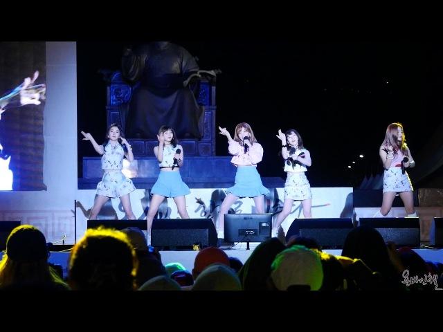 161008 레드벨벳(Red Velvet) [광화문 한글문화큰잔치 박지윤 가요광장 공개방송] 직캠 by 욘