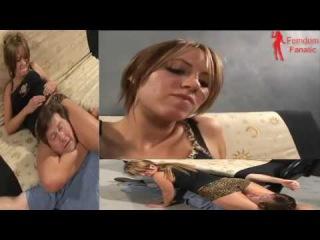 Mixed Wrestling Headscissors - Lana - 6