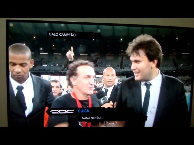 Cuca promete libertadores pelo Botafogo no CQC