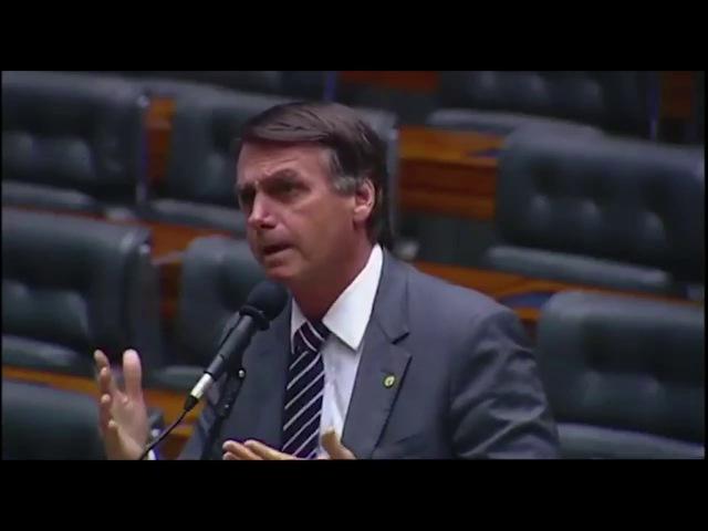 JAIR BOLSONARO denuncia a exclusão do voto impresso