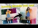 TRANSFORMING MADDIE ZIEGLER INTO ME! | Summer Mckeen