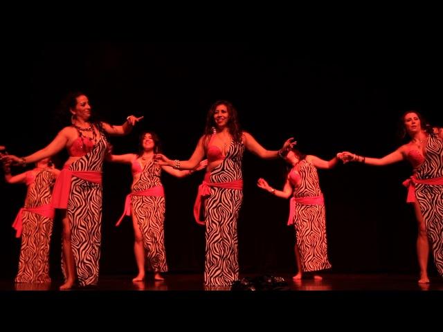 Bint el Hitta Grupo Intensivo Iquique - II Gala Naglah