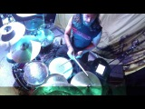 SADIST@The Lonely Mountain-Alessio Spallarossa-Live in Poland 2016 (Drum Cam)