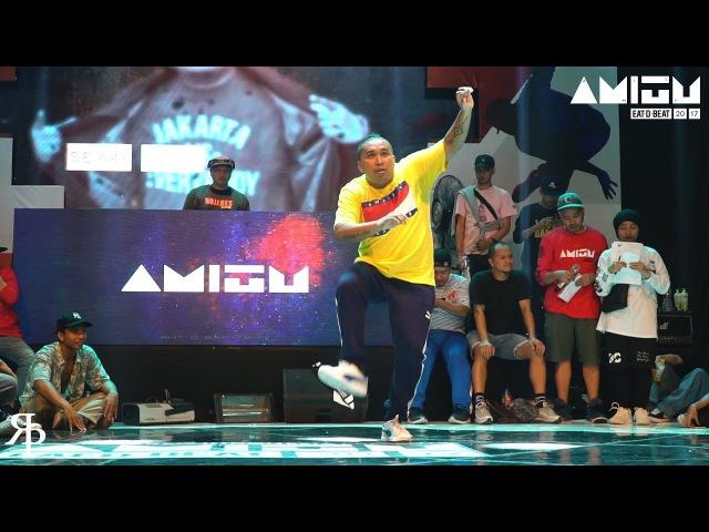 Semmy Blank (INA) | Judge Showcase | Eat D Beat AMITY 2017 Bandung, Indonesia | Danceproject.info
