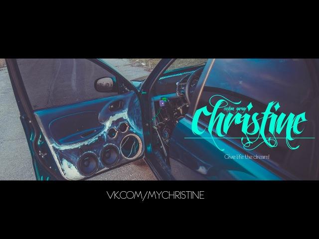 Christine Custom Garage - Громкий фронт / Постройка (2 Пары Alphard Hannibal 6p)