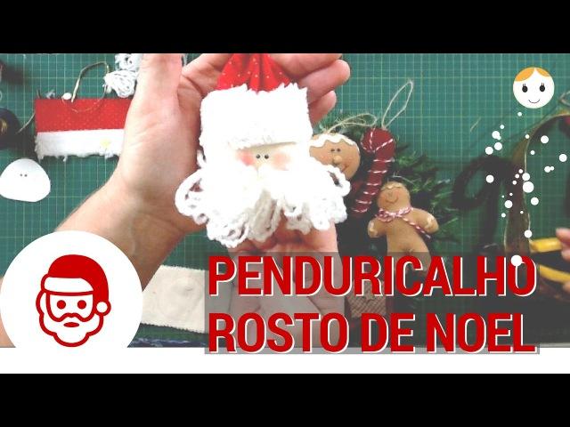 Penduricalho Rosto de Noel Para Árvore - 24/10 às 17h - Drica TV Ao Vivo