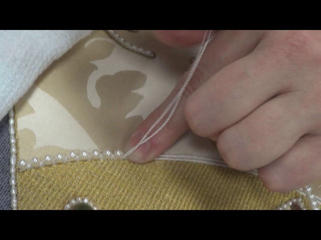 шитье жемчугом