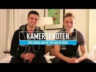 """Kamergenoten Agbaljan en Van de Berg: """"Hij zingt heel erg vals"""""""
