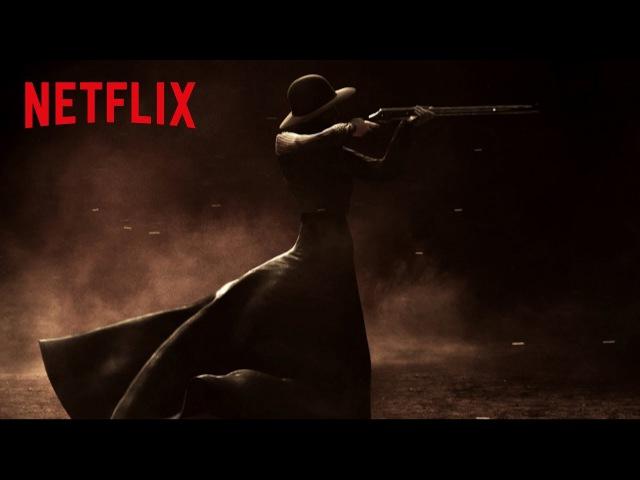 Godless Opening Title Sequence HD Netflix