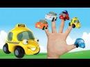 Песенки для детей - Машинка - мультик про машинки - Семья пальчиков