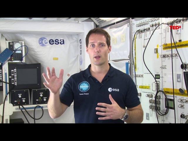 Почему я взял с собой Парижское соглашение на Международную космическую станцию   Тома Песке   TEDxBonn