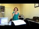 Учимся петь Я устала Фраза Речитатив Характер Пед практика