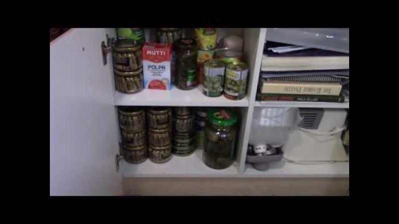 Экскурсия по моей кухне (часть 3). ПРОДУКТОВЫЙ ШКАФ