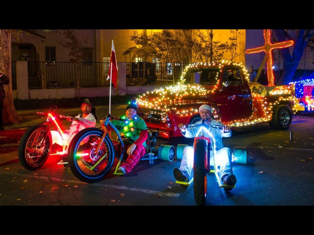 Modesto Drift Trikes in Parade *We're ENERGIZED**