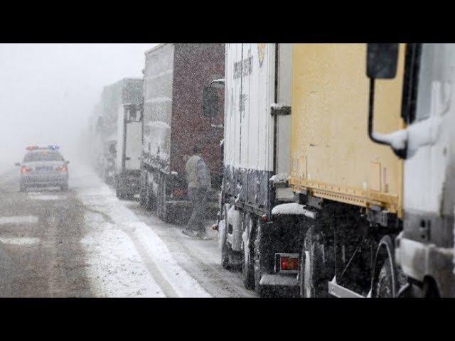 Ситуация на М5 Урал. Продление ограничения движения грузовиков.