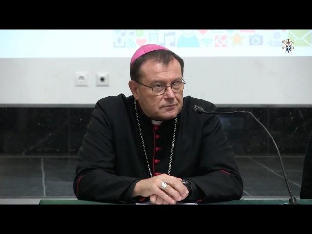 Архиепископ Павел Пецци - Выступление перед участниками семинара.