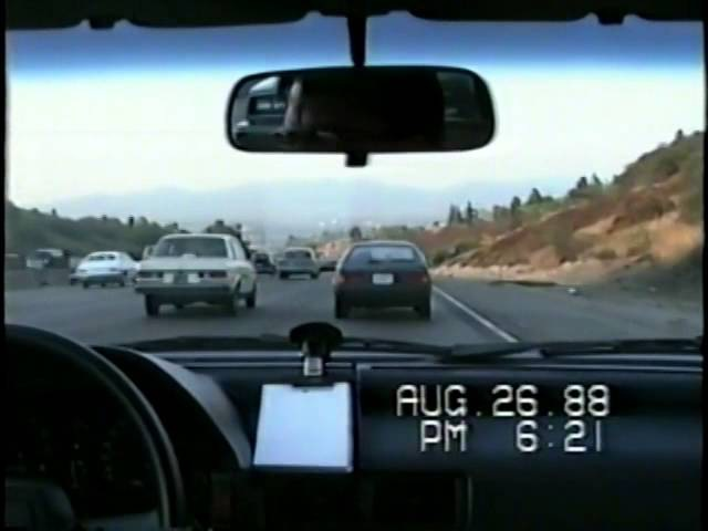 Driving the 405 freeway North in 1988, 24 years before Carmageddon II