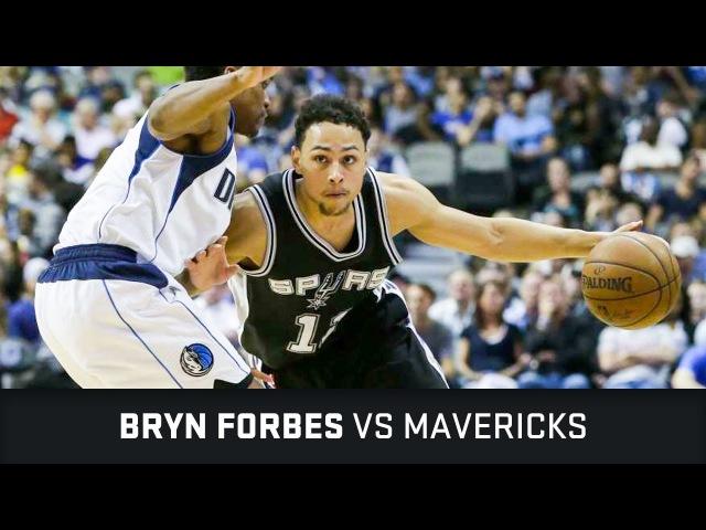 Брин Форбс в матче с Mavericks