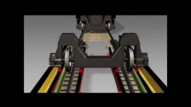 Talgo 250 gage change - Animated