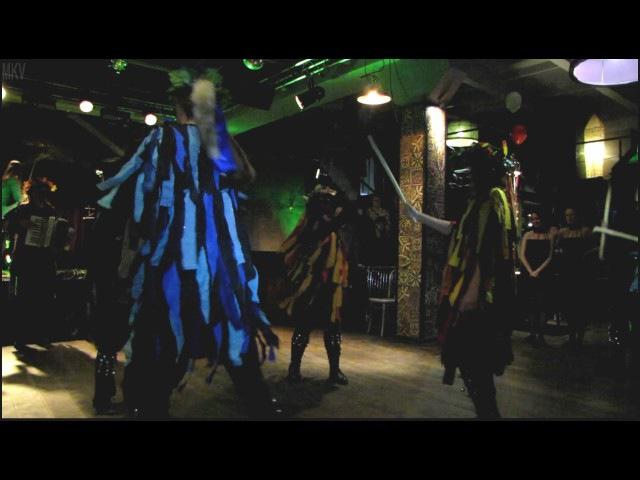 Happy Kelpie Morris Dance -Spring Equinox- Ирландский Самайн в стиле трад. 3.11.16 Place.СПб.
