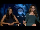 "Berenice Marlohe and Naomie Harris On ""Beautiful Human Being"" Daniel Craig"