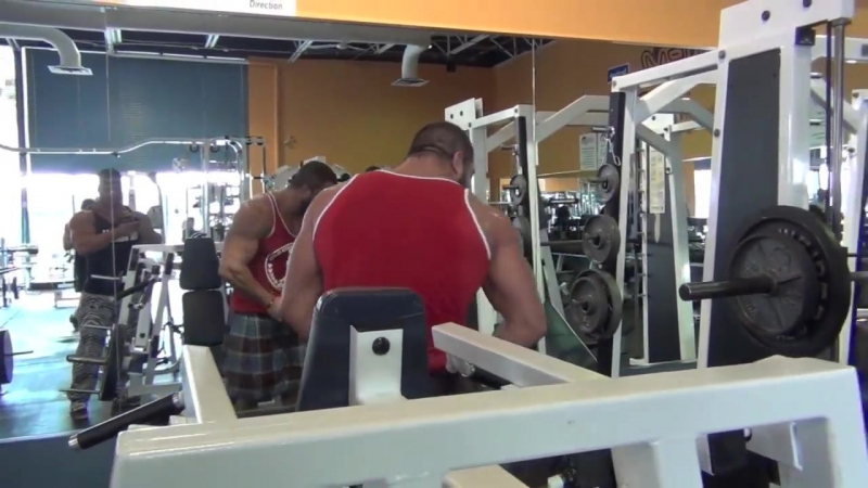 ANTOINE VAILLANT, CED MIKE JOHNSON - DELTOID AND TRAPS SMASHING TIME (spring 20