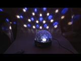 Светодиоидный диско - шар LED CRYSTAL MAGIC BALL LIGHT Новая модель!