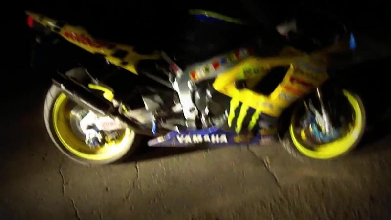 Yamaha R1 Fire (желтый Дракон)