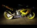 Yamaha R1 Fire желтый Дракон