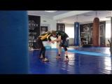 два мастера спорта-Магомедов Валерий и Екимов Сергей.время идет,а мы все боремся,как раньше,в одной весовой)